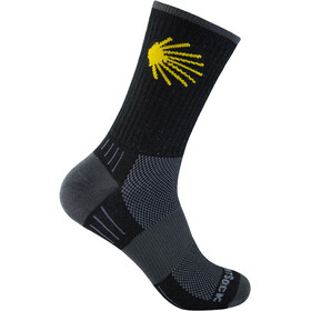 Wrightsock Escape Crew-Cut Socken black